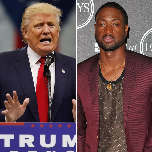 Trump on fatal shooting of Dwyane Wade's cousin: 'Just what I've been saying. African-Americans will VOTE TRUMP!'
