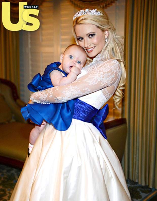 holly madison's sister's wedding dress