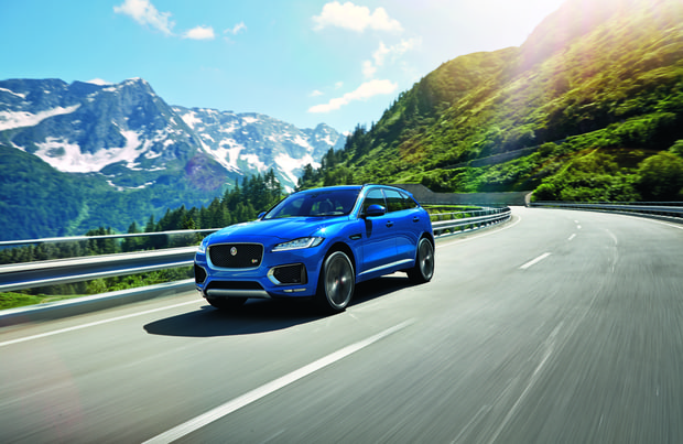 SUVs/Crossovers: Jaguar F-Pace