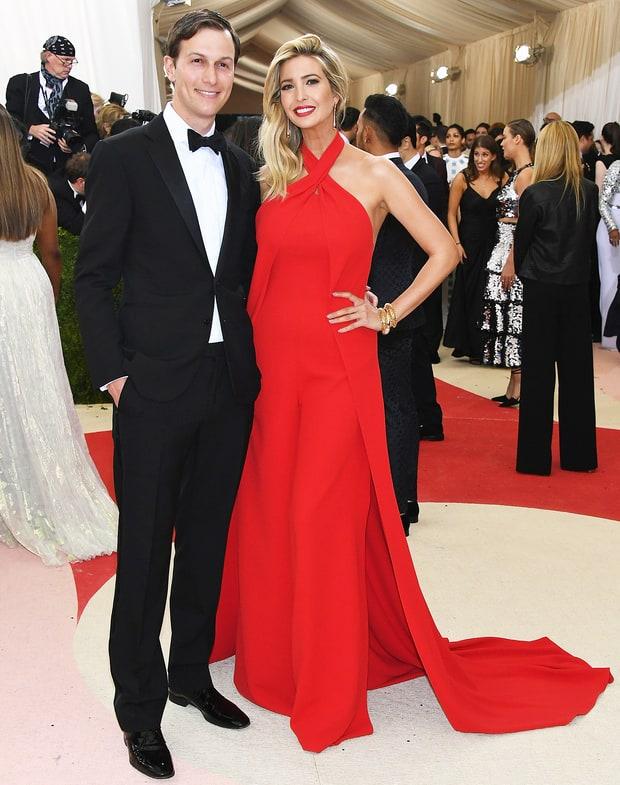Ivanka with her husband Jared Kushner