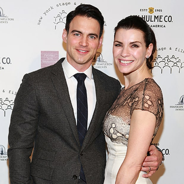 Julianna Margulies with husband