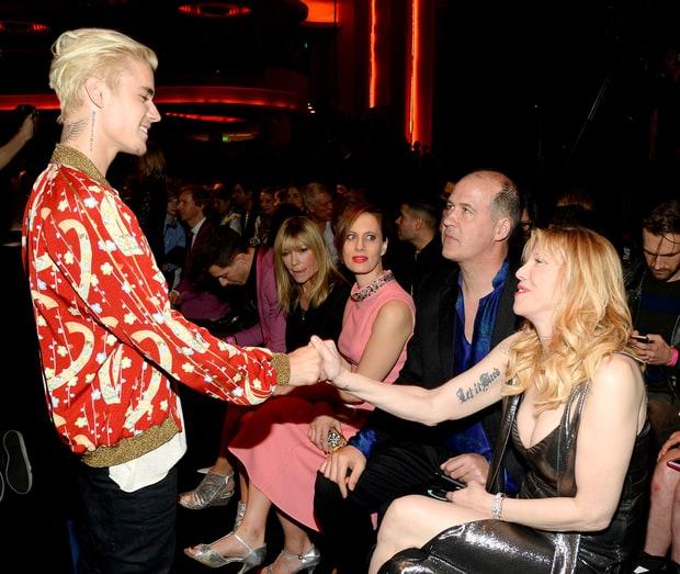 Courtney Love Stars In The Latest Saint LaurentCampaign