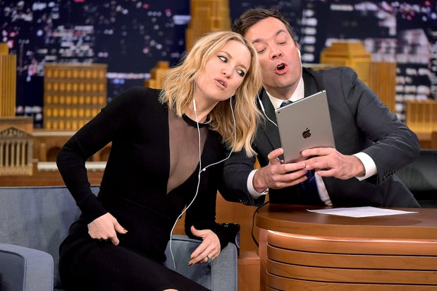 Jimmy Fallon And Kate Hudson Give Hilarious Dubsmash App A Try