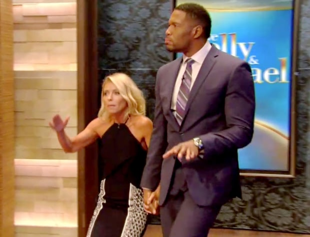 replica hermes birkin handbags - Kelly Ripa, Michael Strahan Hold Hands on 'Live' After Early Exit ...