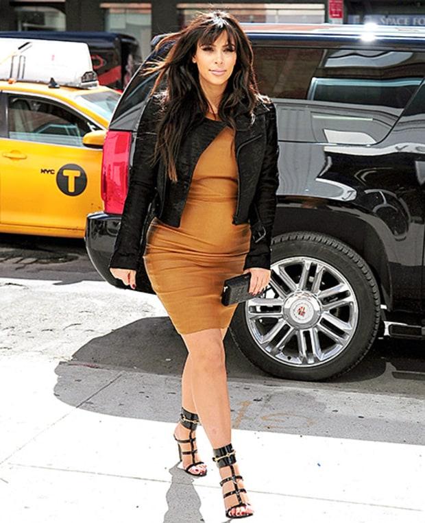 Kim Pregnant 2013