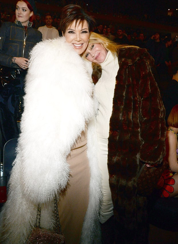 Kris Jenner And Melanie Griffith Inside Kanye West S