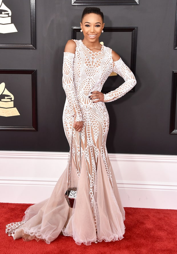 Image result for grammys 2017 red carpet Kriss mincey