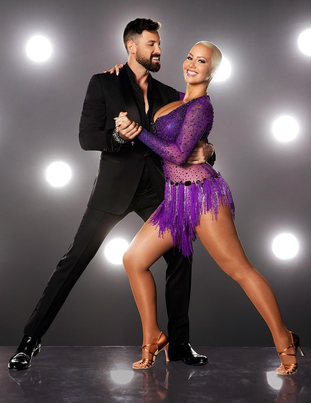 Dancing with the Stars Dancers: Amber Rose and pro Maksim Chmerkovskiy Eliminated