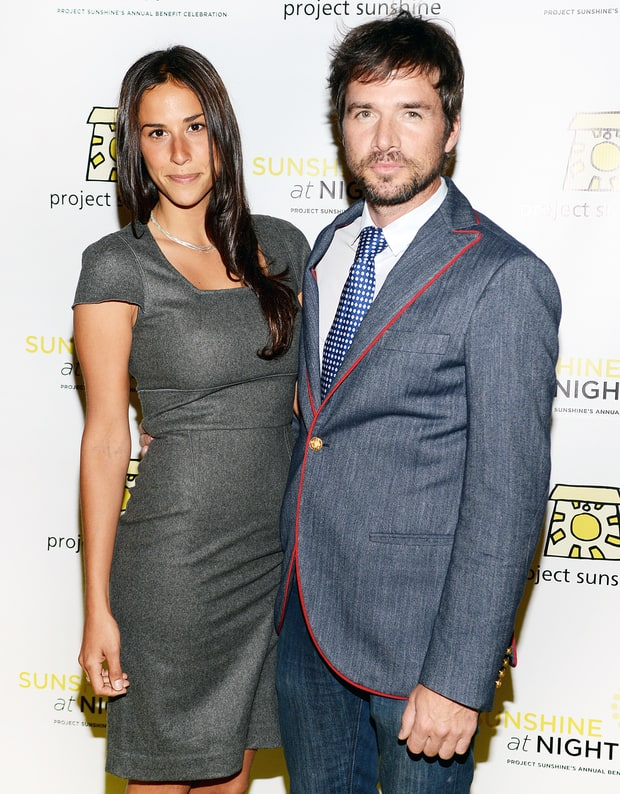 Matthew Settle and Maria Alfonsin
