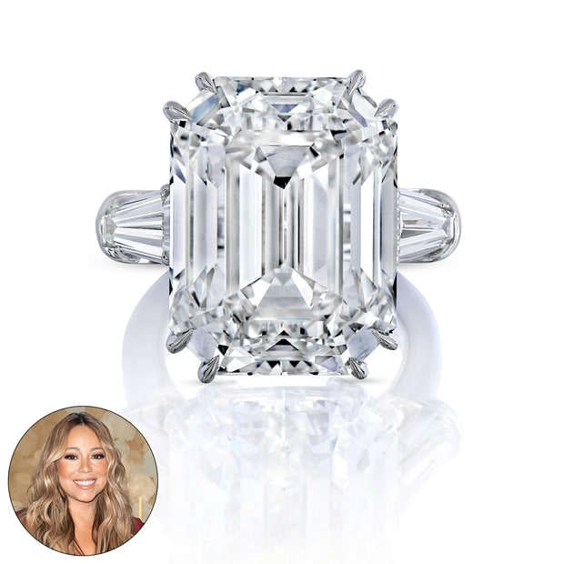 Mariah carey wedding rings