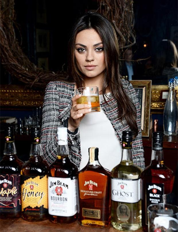 Mila Kunis jack daniels commercial