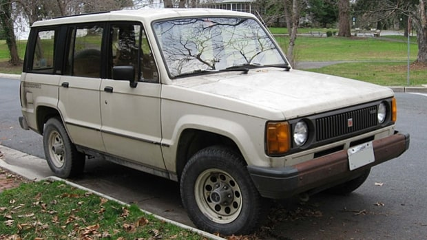 1983-1991 Isuzu Trooper