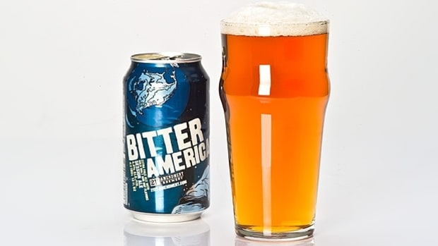 21st Amendment Bitter American: 160 Calories