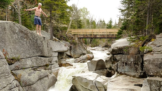 New Hampshire: Bode Miller's Secret Swimming Hole