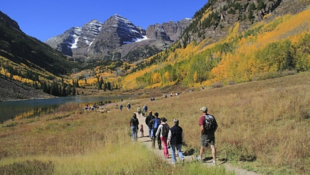 Maroon Bells Trail, White River National Forest, CO