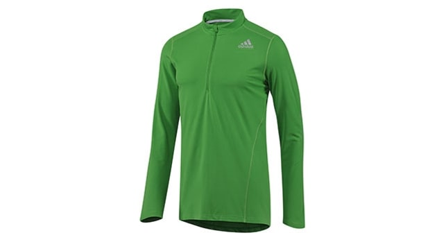 Adidas Sequencials Half-Zip Long-Sleeve Tee