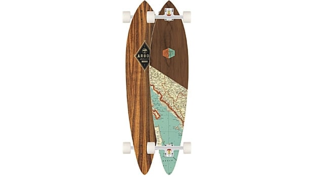 Arbor fish longboard treat yourself 43 great gifts to for Arbor fish longboard