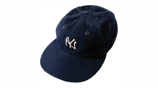 Babe Ruth and David Wells's Game-Worn Cap