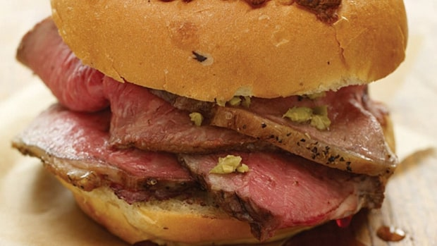 Prime Beef Sandwich (Lobel's, Yankee Stadium, New York)