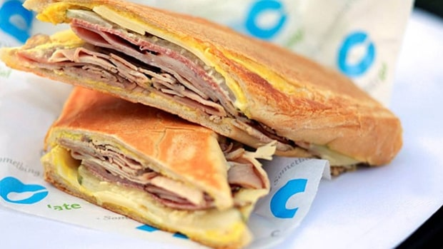 Cuban Sandwich (Tropicana Field, St. Petersburg)