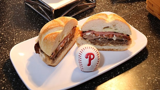 The Schmitter (Section 140, Citizens Bank Park, Philadelphia)