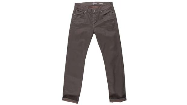 7 For All Mankind Slimmy in Brown