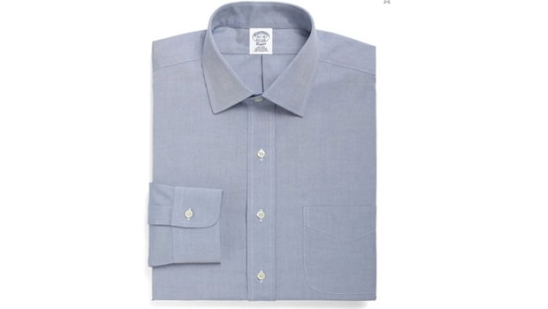 Brooks Brothers Spread Collar Shirt