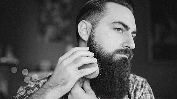 Brush your beard