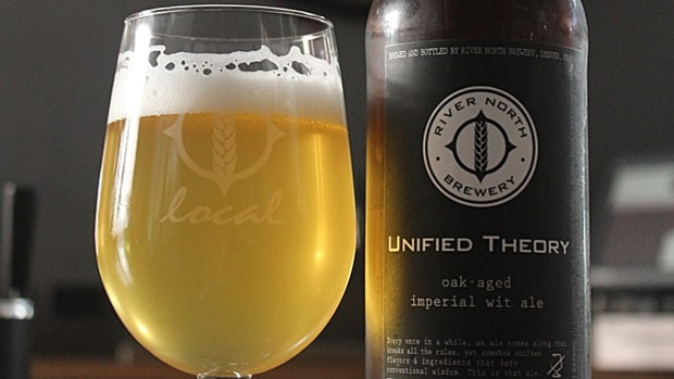 River North - Unified Theory (Oak-aged Imperial Wit)