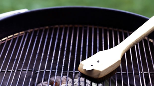 Clean and oil your grill.