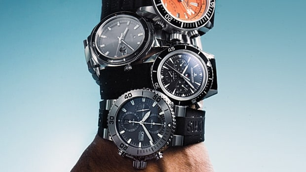 Five Stylish Dive Watches
