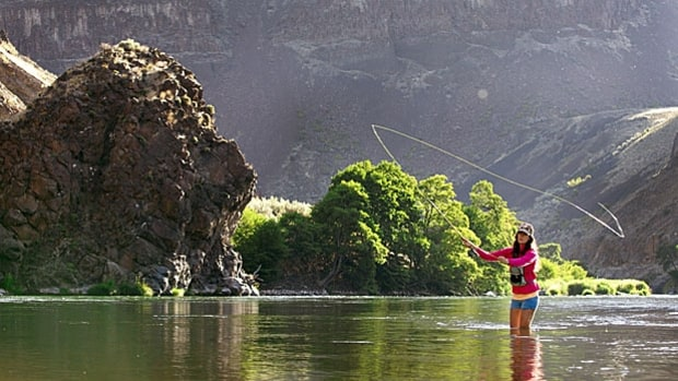 Deschutes River, Oregon: Fly Fishing