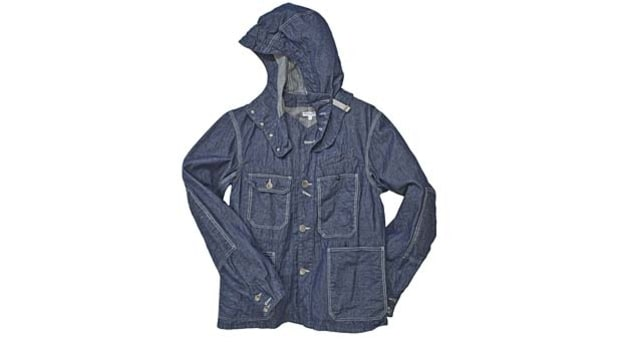 Engineered Garments Short Coverall Denim Jacket