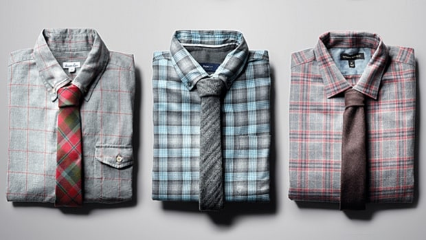 Fitted Flannel Shirts