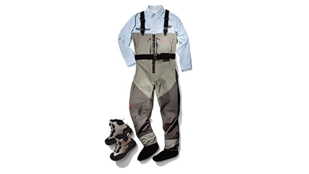 The Outfit: Columbia Airgill Chill, Redington Sonic-Pro Waders