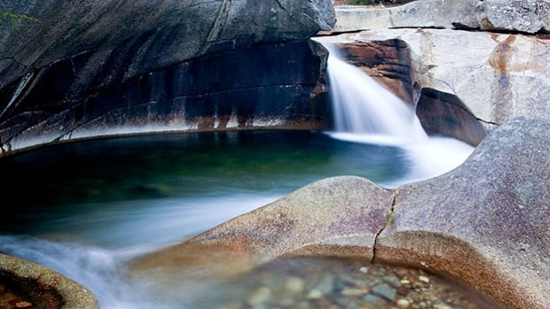 Franconia Falls, White Mountain National Forest