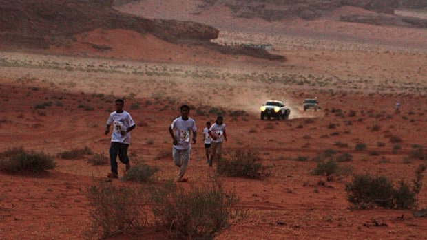 Full Moon Marathon, Jordan