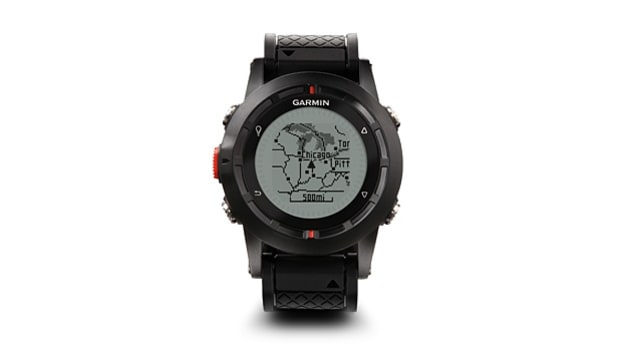 Garmin Fenix watch.