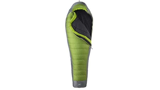 REI Flash sleeping bag.