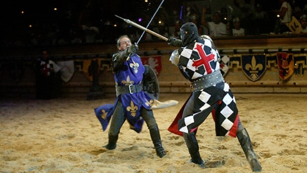 Go to Medieval Times.