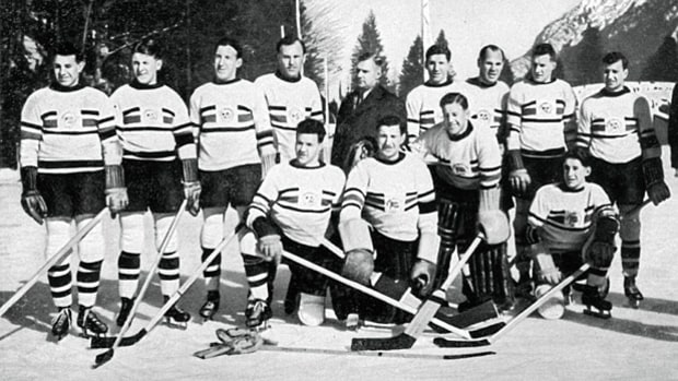 Great Britain over Canada, Hockey, Garmisch-Partenkirchen 1936