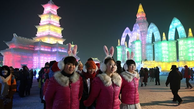 Harbin International Ice & Snow Festival, China