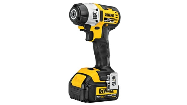 DeWalt 20V Max Lithium Ion Brushless 3-Speed 1/4-inch Impact Driver