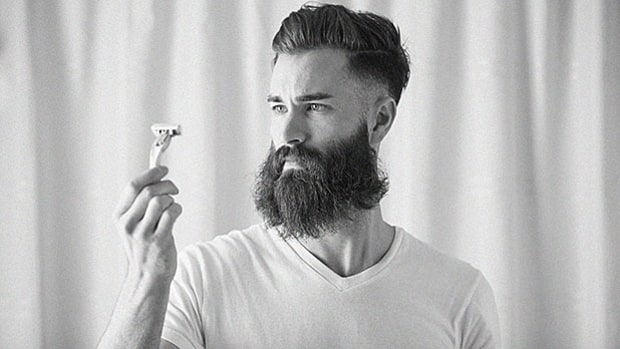 How to get rid of a beard