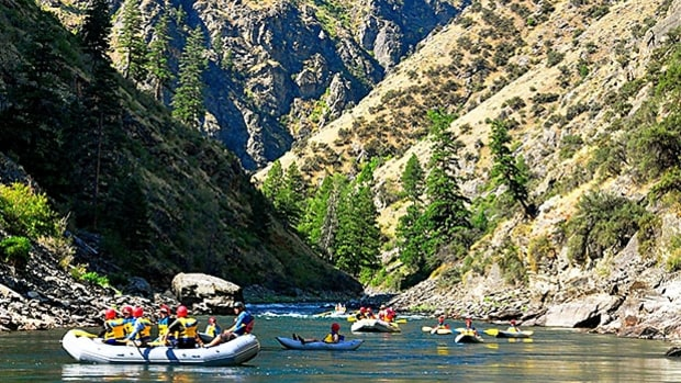 Idaho River Journeys: Hiking and Floating the Middle Fork of the Salmon