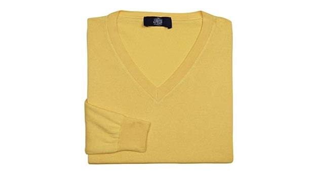 V-Neck: J. Press' Lightweight Cotton
