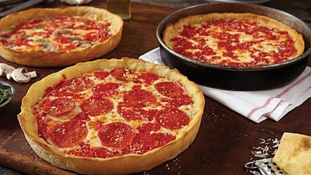 Good Pizza Places Near Me: Lou Malnati's Pizzeria, Chicago, IL.