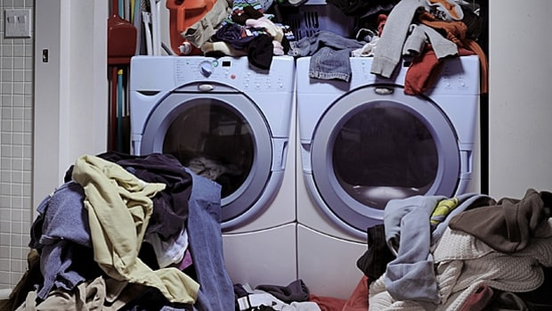 Maintain the Washer and Dryer