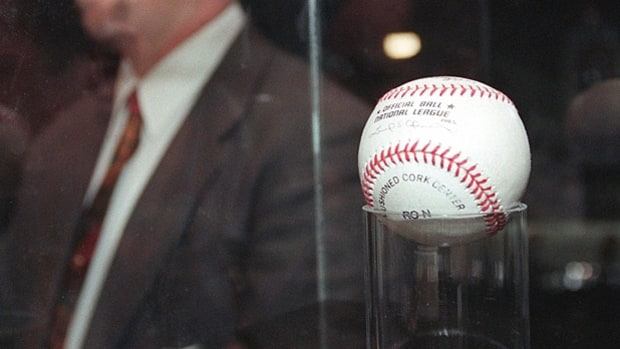 Mark McGwire's 70th Home-Run Ball