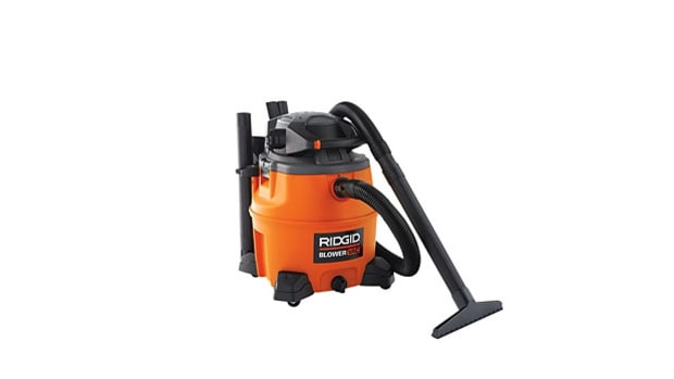 Ridgid 16-Gallon Wet/Dry Vac With Blower